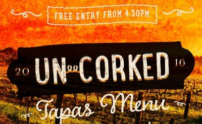 Unwind at 'Uncorked' on Friday 13th May!